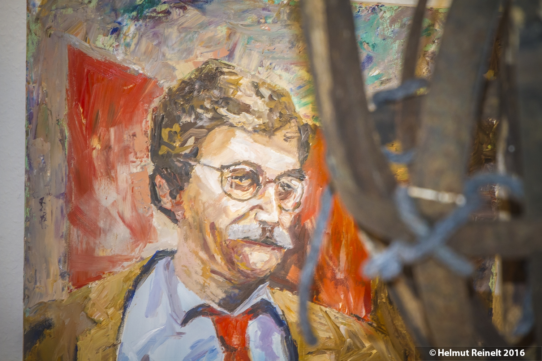 Portrait Heinz Zöller, Kurt Volkert